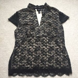 Lane Bryant lace special occasion top! Size 14/16